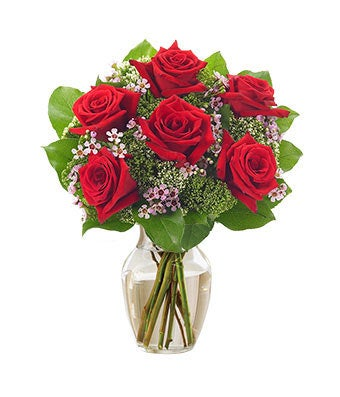 Red rose garden - Red garden rose bouquet ...