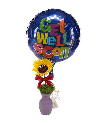 Sunny and Bright Get Well Wishes