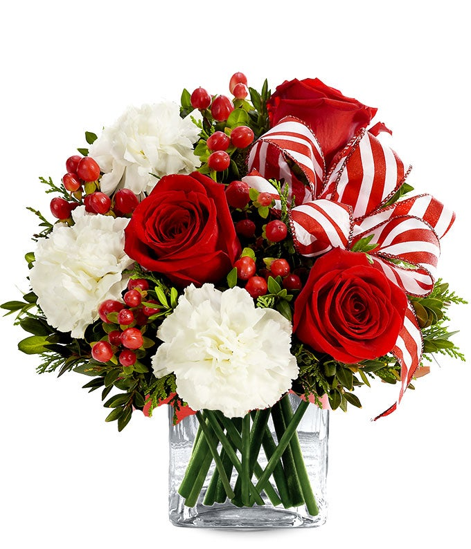 Peppermint Flower Surprise