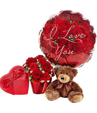 Flowers - You Lift My Heart Bouquet - Regular