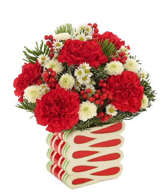 Peppermint Swirl Bouquet