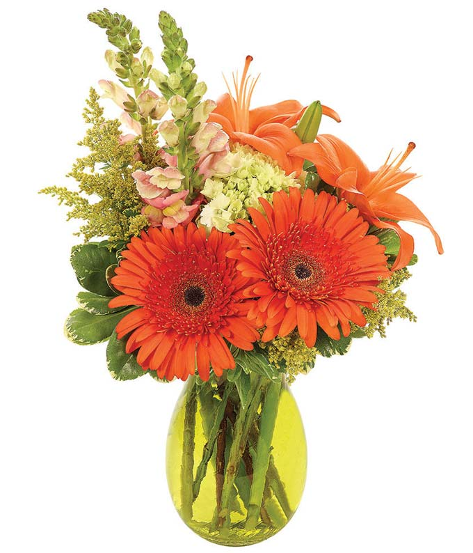 Opulent Orange Bouquet