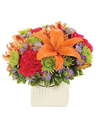 Orange Fiesta Bouquet