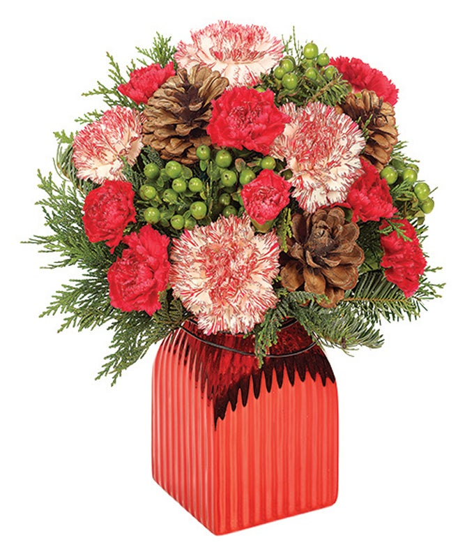 Shiny Red Bouquet