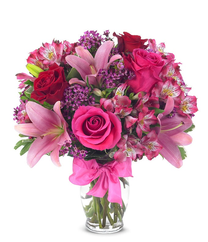 rose  lily celebration at from you flowers, Beautiful flower