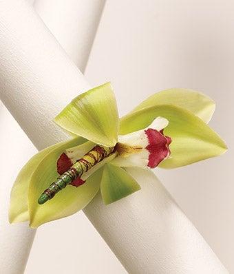 Orchids Galore Wrist Corsage