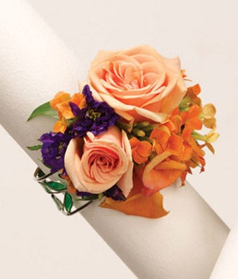 Love's on Fire Wrist Corsage