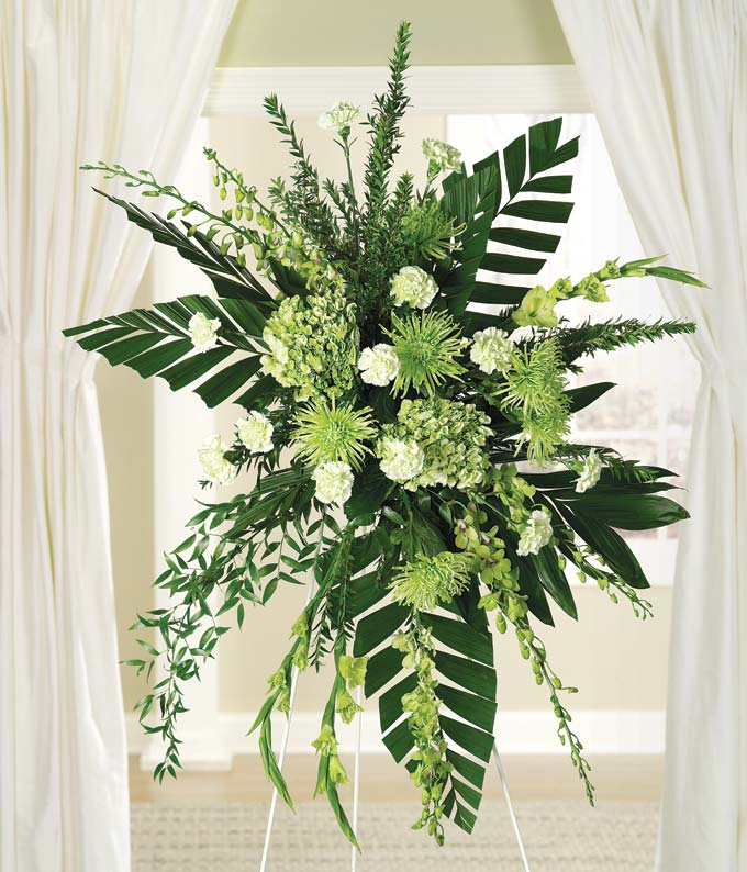 Dendrobium Orchid Standing Spray