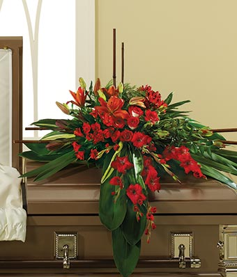 In His Honor Casket Spray At From You Flowers
