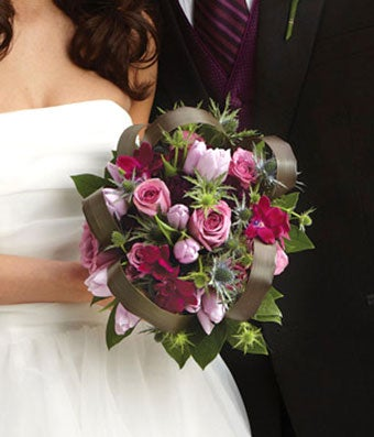 Purple Passion Bridal Bouquet