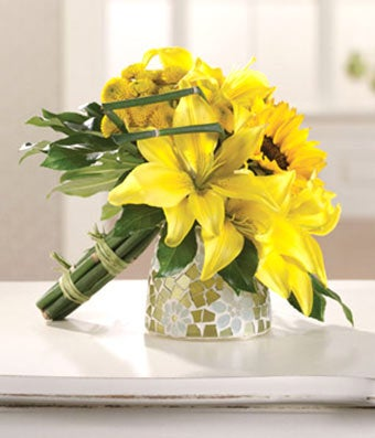 Eternity Bridesmaid Bouquet