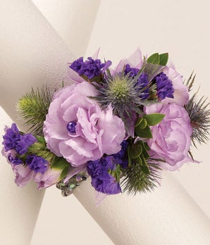 Studded Carnation Wrist Corsage At From You Flowers