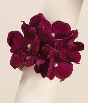 Purple Reigns Wrist Corsage