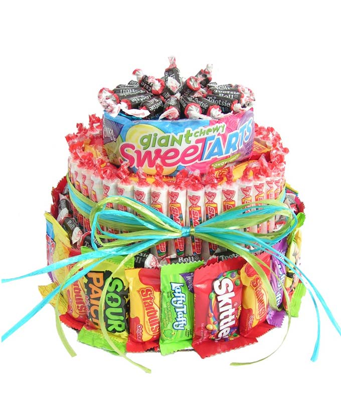 The Ultimate Candy Birthday Cake