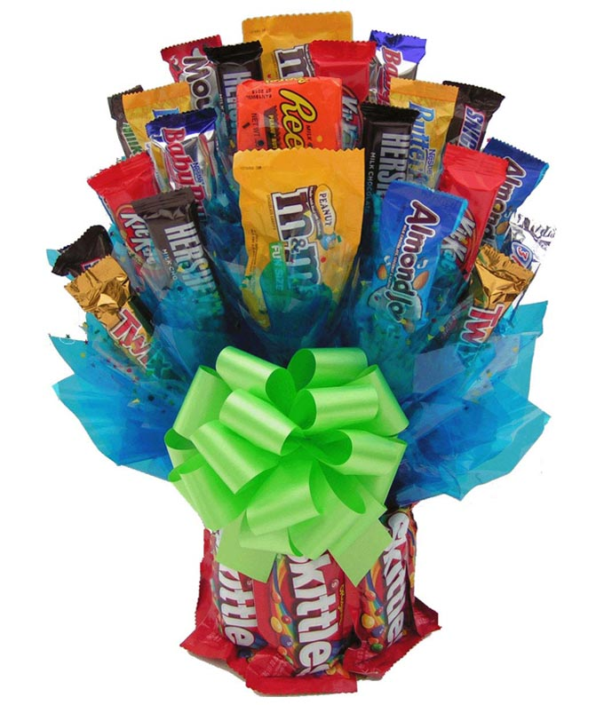 Skittles Candy Bouquet - Large