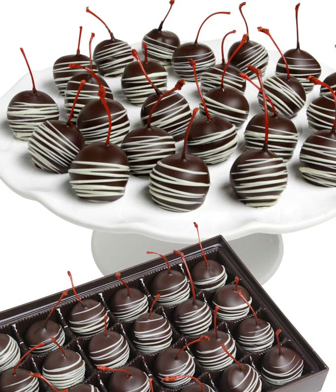 Chocolate Covered Cherries - 24 Pieces