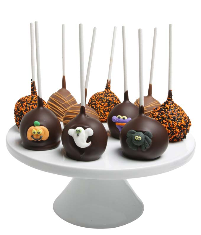 Halloween Cake Pops - 10 Pieces