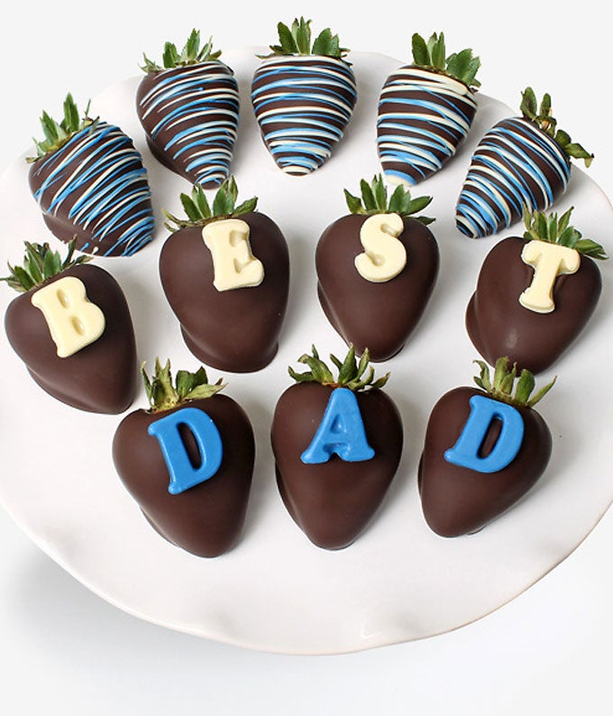 Father's Day Chocolate Covered Strawberries