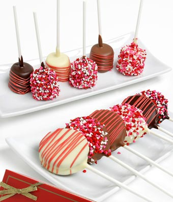 Love Chocolate Covered Marshmallows & OREOS - 12 Pieces