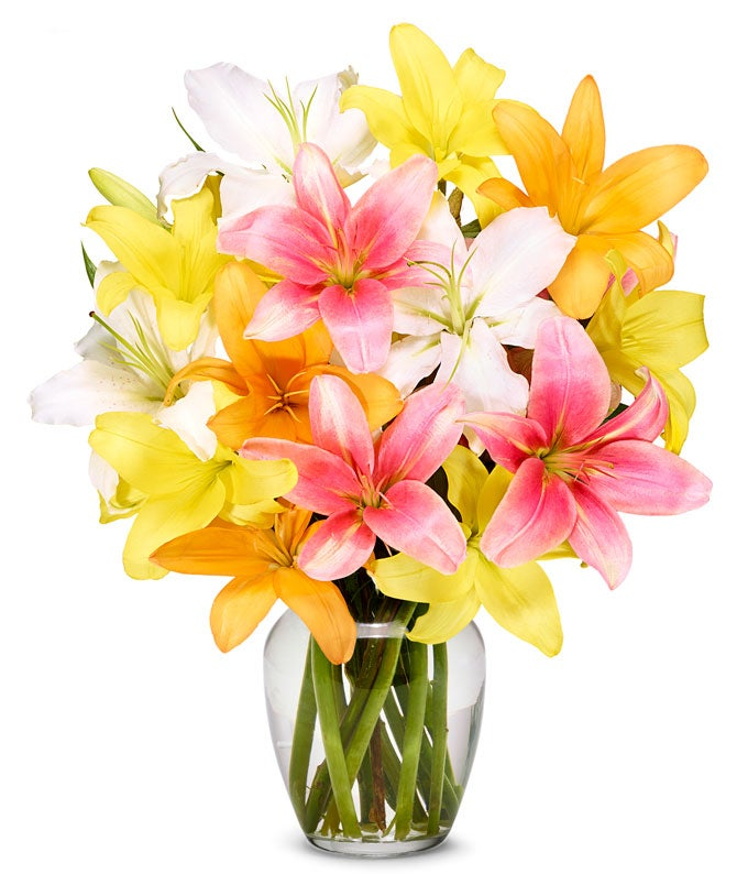 Fall Lily Bouquet