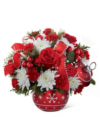 Festive Ornament Bouquet