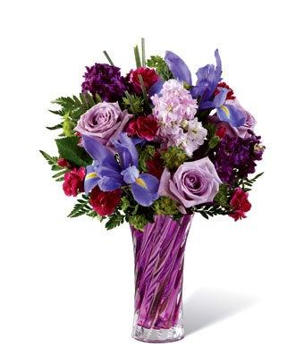 Natural Purple Field Bouquet
