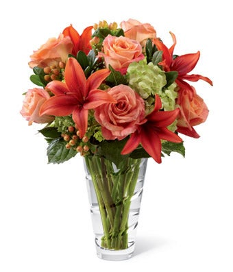 Flowers - Vibrant Dawn Bouquet - Regular