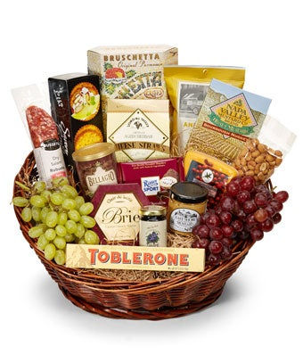 Most popular month for birthdays gourmet food basket gift