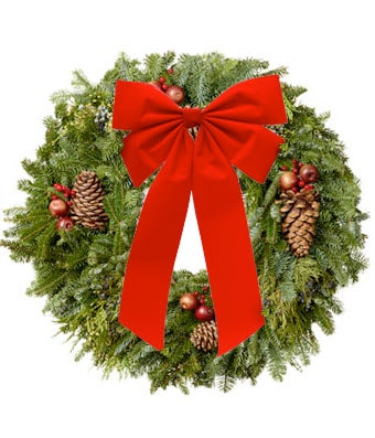Our Classic Christmas Wreath