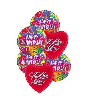 Anniversary Love Balloon Mix