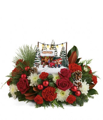 Thomas Kinkade Holiday Centerpiece