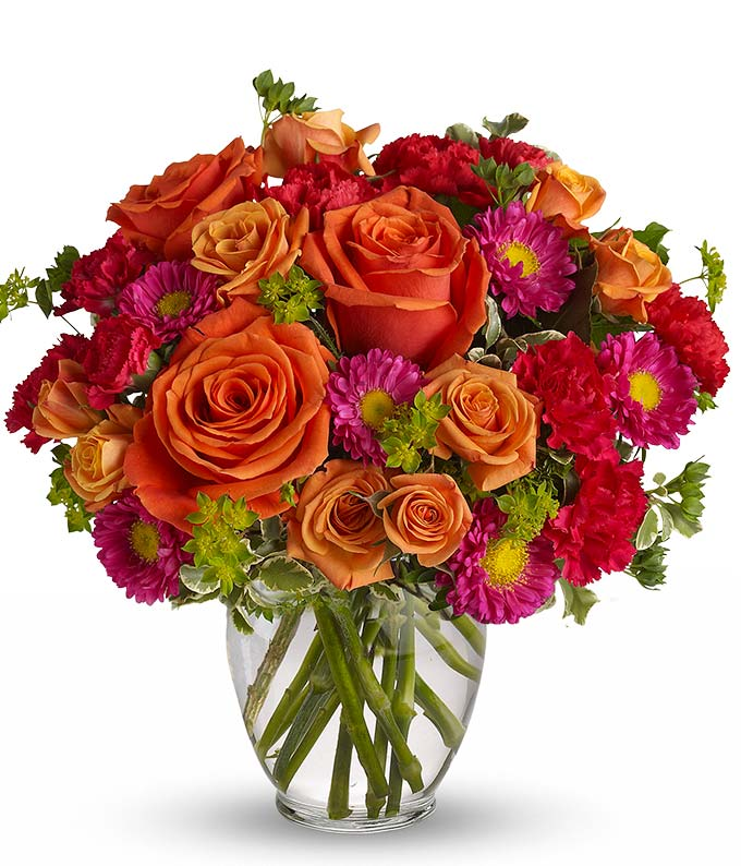 how sweet it is roses, asters, birthday flowersfromyouflowers, Natural flower