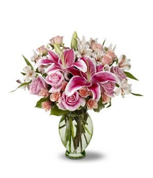 Stargazer Lily Bridal Bouquet