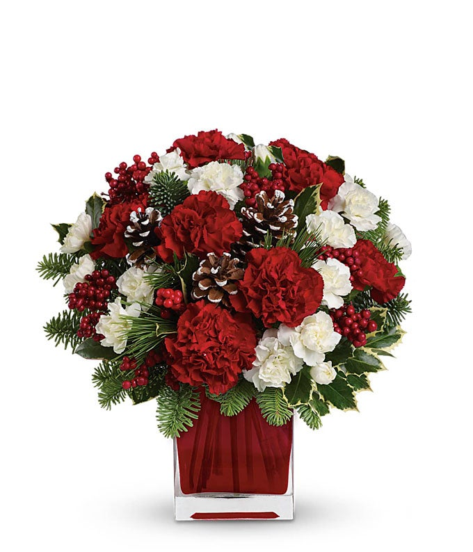 the christmas spirit bouquet at from you flowers, Natural flower