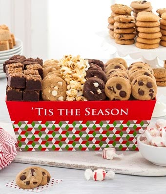 Mrs. Fields� Holiday Tray