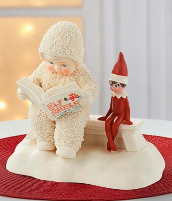 Snowbabies Guest Elf on the Shelf