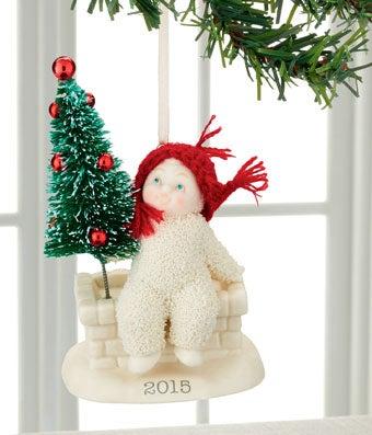 Snowbabies 2015 Tree Top Ornament
