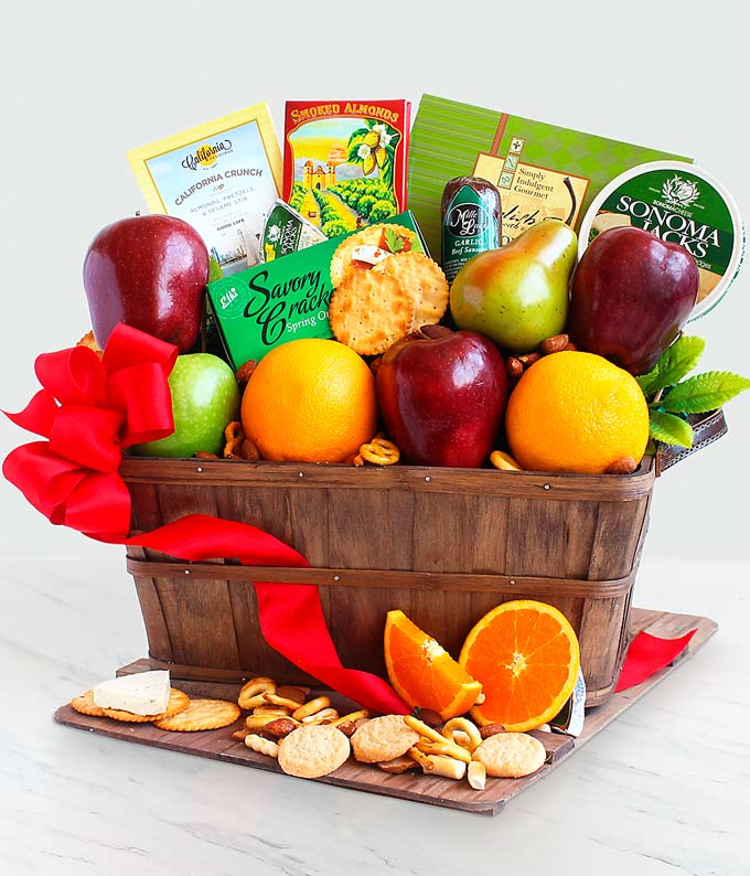 Fruitful Greetings Gourmet Basket - Better
