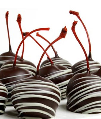 Chocolate Covered Maraschino Cherries