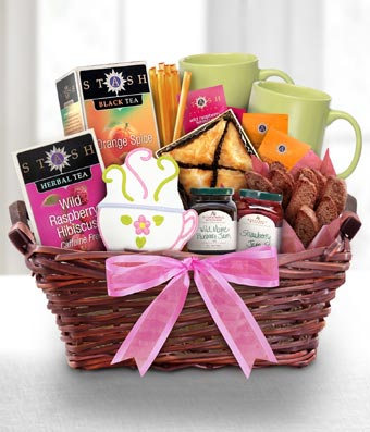 Tea Time Gourmet Gift Basket - Regular