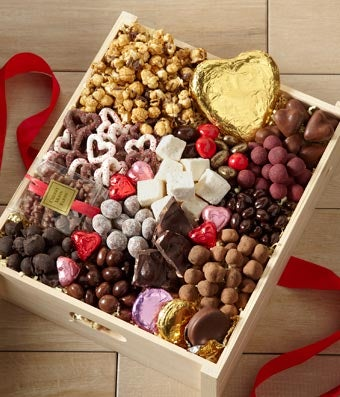 Flowers - Valentine's Day Sweets for My Sweetie Gourmet Gift - Regular