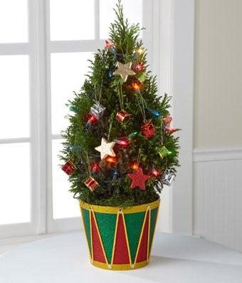 Merry Wishes Holiday Tree