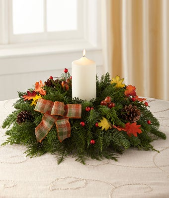 The FTD® Autumn Centerpiece by Better Homes and Gardens®