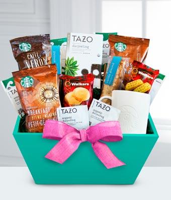 Flowers - Starbucks & Tazo Gift for Mom - Regular
