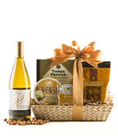 Fine Wine & Cheese Gift Basket