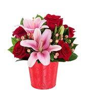 My Shimmering Heart Bouquet