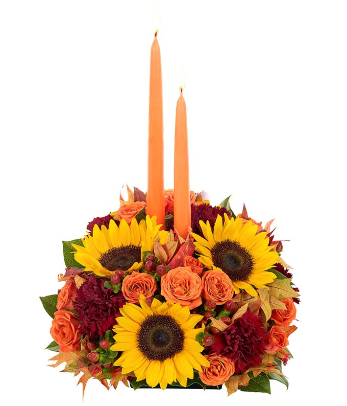 Fall Abundance Centerpiece