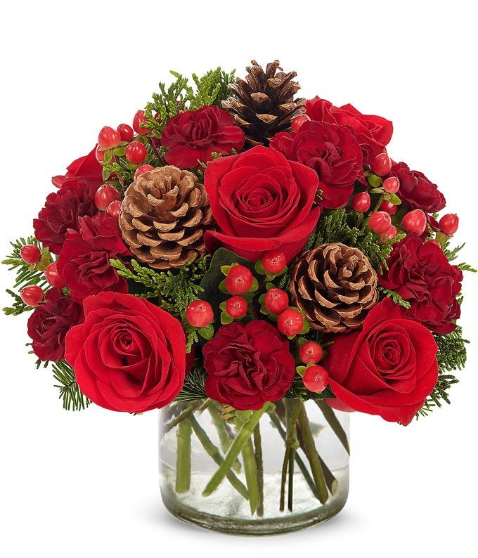 Crimson Christmas Bouquet