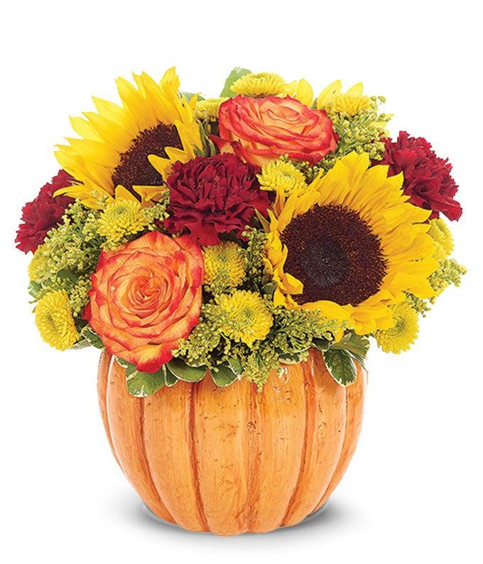 Rustic Pumpkin Bouquet