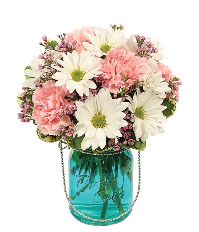 Quaint Blue Bouquet